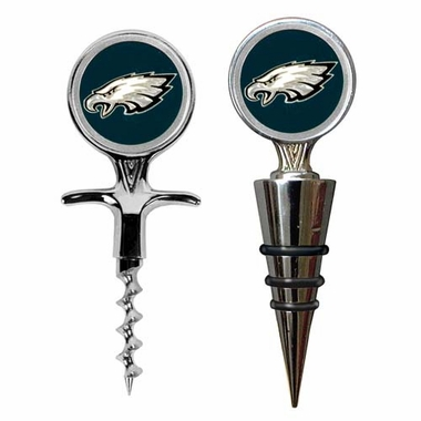 Philadelphia Eagles Corkscrew and Stopper Gift Set