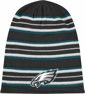 Philadelphia Eagles Cuffless Reversible Long Knit Hat