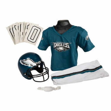Philadelphia Eagles Deluxe Youth Uniform Set