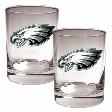 Philadelphia Eagles Double Rocks Set