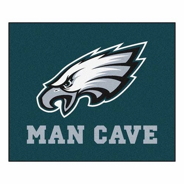 Philadelphia Eagles Economy 5 Foot x 6 Foot Man Cave Mat