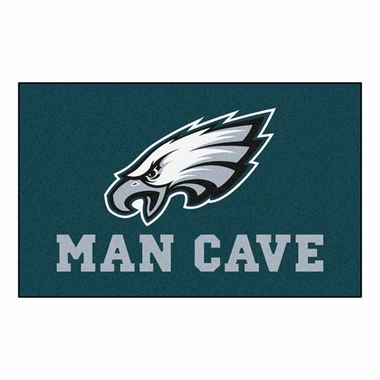 Philadelphia Eagles Economy 5 Foot x 8 Foot Man Cave Mat