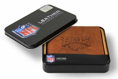 Philadelphia Eagles Embossed Leather Bifold Wallet