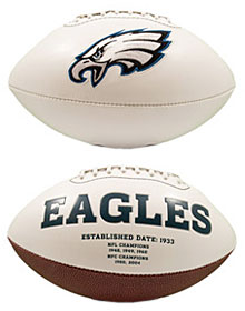 Philadelphia Eagles Full Size Embroidered Signature Series Football