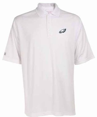 Philadelphia Eagles Mens Exceed Polo (Color: White)