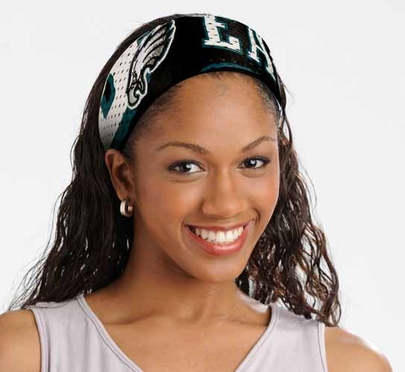 Philadelphia Eagles FanBand Hair Band
