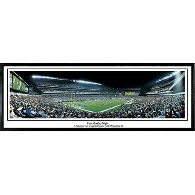 Philadelphia Eagles First Monday Night Framed Panoramic Print