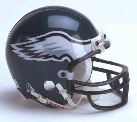 Philadelphia Eagles Football Helmet - Mini Replica