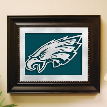 Philadelphia Eagles Framed Laser Cut Metal Wall Art