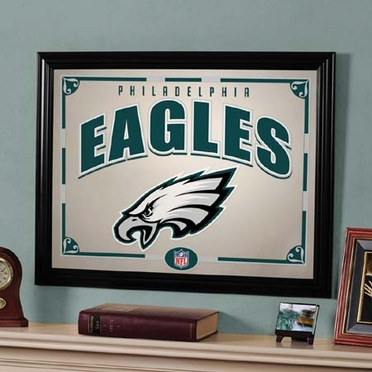 Philadelphia Eagles Framed Mirror