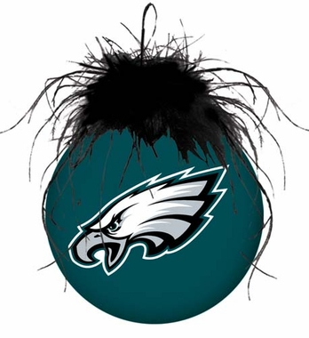 Philadelphia Eagles Glass Ball Ornament