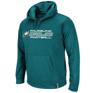 Philadelphia Eagles Gridiron III Hooded Performance Sweatshirt - X-Large
