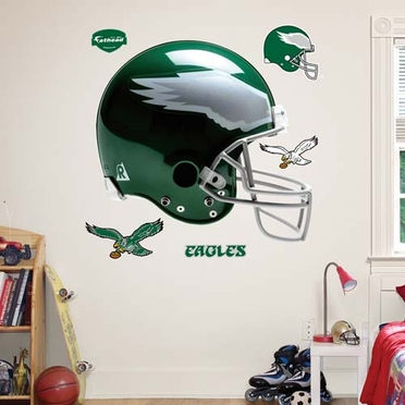 Philadelphia Eagles Helmet Fathead Wall Graphic