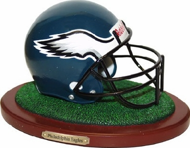Philadelphia Eagles Helmet Figurine