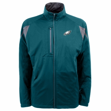 Philadelphia Eagles Mens Highland Water Resistant Jacket (Team Color: Teal)