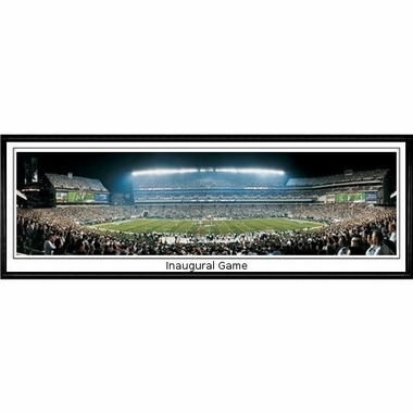 Philadelphia Eagles Inaugural Game Framed Panoramic Print
