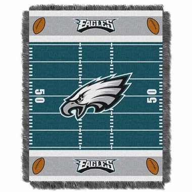 Philadelphia Eagles Jacquard BABY Throw Blanket