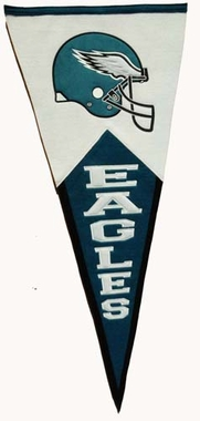 Philadelphia Eagles Large Wool Pennant