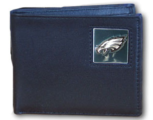 Philadelphia Eagles Leather Bifold Wallet (F)