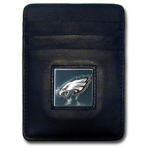 Philadelphia Eagles Leather Money Clip (F)