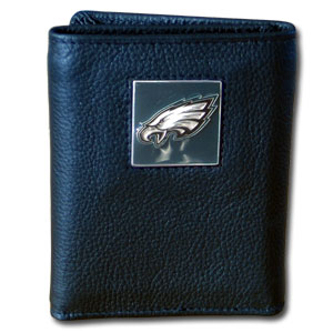 Philadelphia Eagles Leather Trifold Wallet (F)