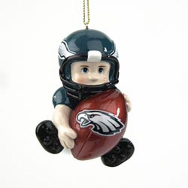Philadelphia Eagles Lil Fan Ornaments (Set of 2)