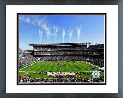 Philadelphia Eagles Lincoln Financial Field 2009 16x20 Framed and Double-Matted Photo