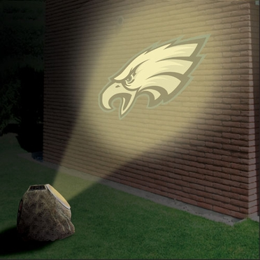 Philadelphia Eagles Logo Projection Rock