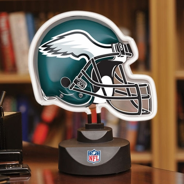 Philadelphia Eagles Neon Display Helmet