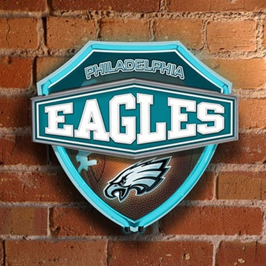 Philadelphia Eagles Neon Shield Wall Lamp