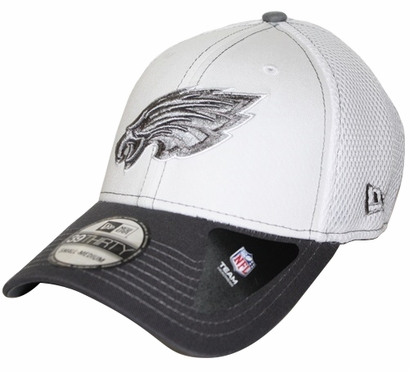 Philadelphia Eagles New Era 39THIRTY Blitz Neo Fitted Hat - Gray