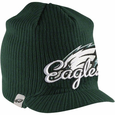 Philadelphia Eagles New Era NFL Retro Viza Visor Knit Hat