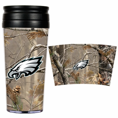 Philadelphia Eagles Open Field Acrylic Travel Tumbler