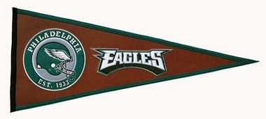 Philadelphia Eagles Pigskin Pennant