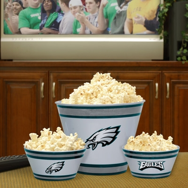 Philadelphia Eagles Plastic Serving Set