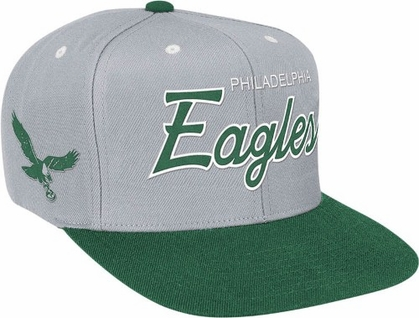 Philadelphia Eagles Retro Script Snapback Hat