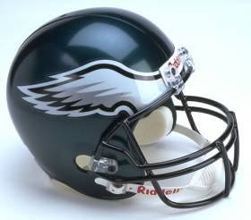 Philadelphia Eagles Riddell Full Size Authentic Helmet