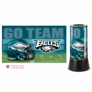 Philadelphia Eagles Rotating Lamp