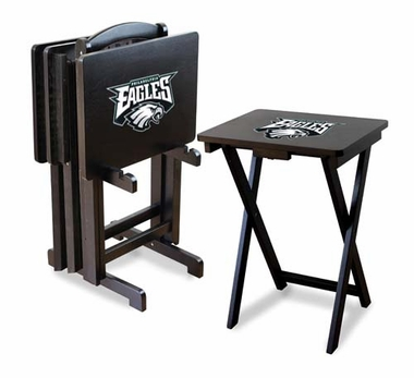 Philadelphia Eagles Set of 4 Folding TV Trays