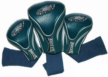 Philadelphia Eagles Set of Three Contour Headcovers