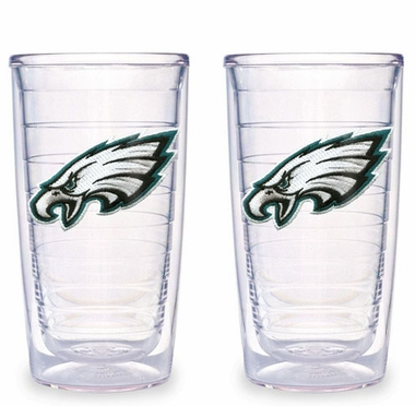 Philadelphia Eagles Set of TWO 16 oz. Tervis Tumblers