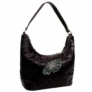 Philadelphia Eagles Sport Noir Quilted Hobo