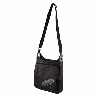 Philadelphia Eagles Sport Noir Sheen Crossbody Bag