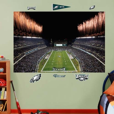 Philadelphia Eagles Stadium Fathead Wall Graphic