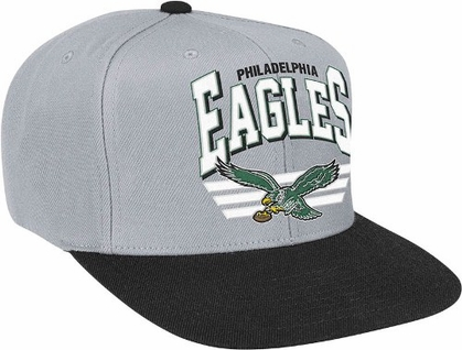 Philadelphia Eagles Stadium Throwback Snapback Hat