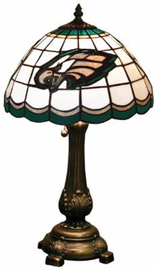 Philadelphia Eagles Stained Glass Table Lamp