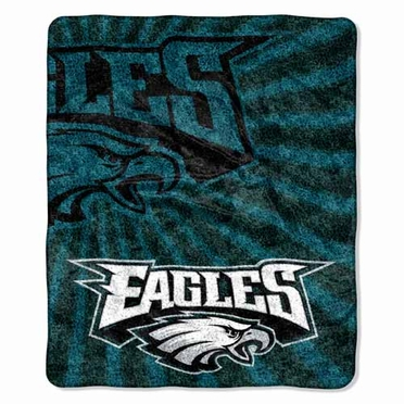 Philadelphia Eagles Super-Soft Sherpa Blanket