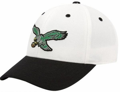 Philadelphia Eagles Throwback Logo Adjustable Hat