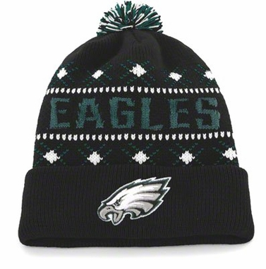 Philadelphia Eagles Tip Off Cuffed Knit Hat