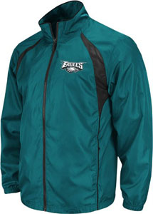 Philadelphia Eagles Trainer Full Zip Lightweight Jacket - Medium